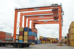 Rubber Tyred Gantries Rtgs Ports Cargo