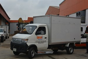 SIFAX Shipping Truck